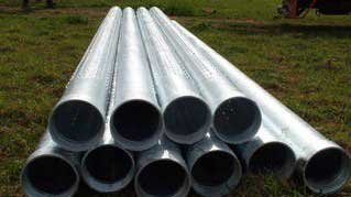 steel water well pipes
